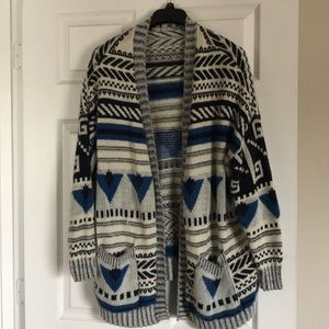 Ecote Snit Cardigan Sweater sz medium